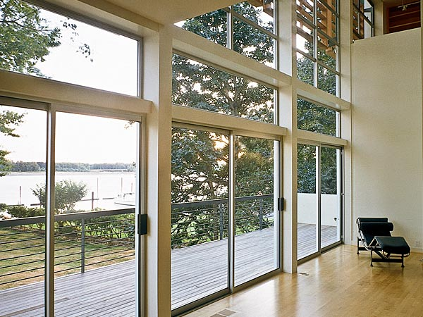 Aluminium Windows - contemporary and plenty of light