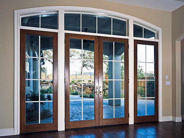 French patio doors for Porch windows and doors